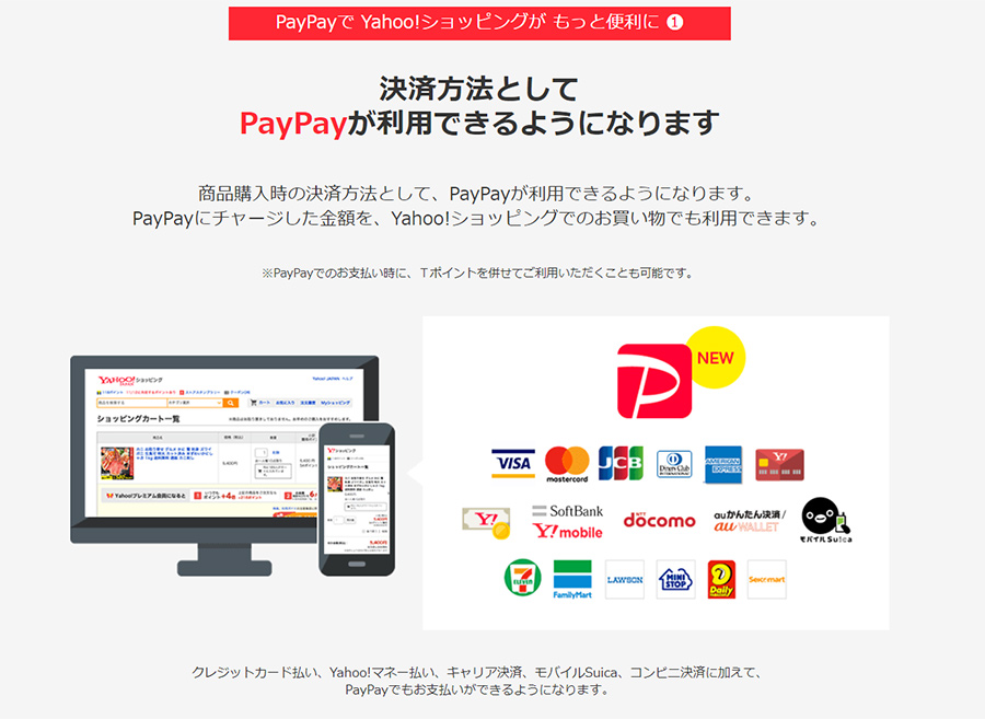 【随時更新】PayPay(ペイペイ)が使える場所・お店・コンビニのまとめ