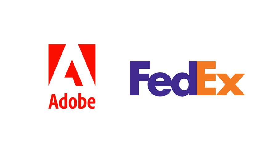 アドビとFedExがEコマースのパートナーシップを発表!