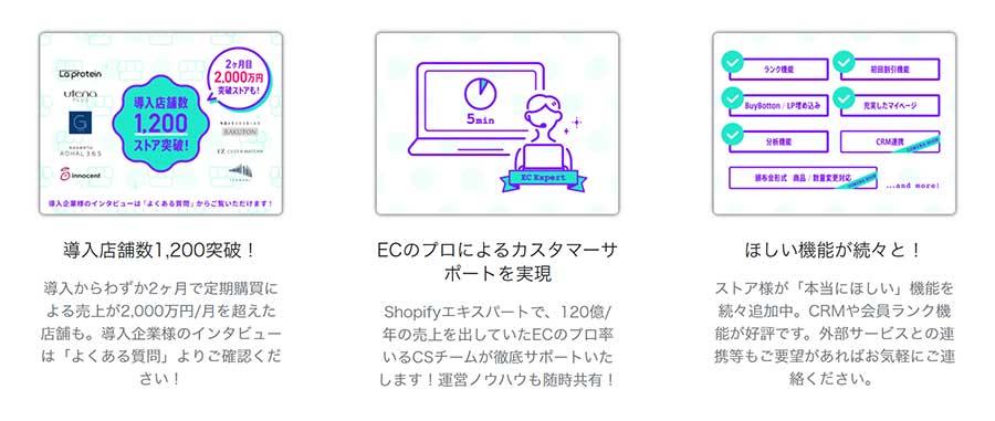 Shopify(ショッピファイ)アプリ「定期購買」に商品の変更、お届け日の変更機能が追加